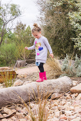 Arid Explorers Garden - fun & exploration for our young visitors